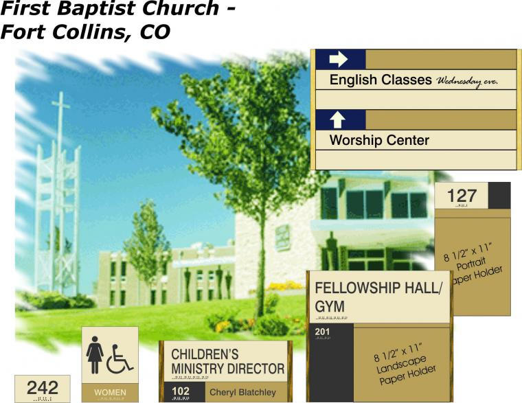 LifePointe Church | Avalis Wayfinding Solutions